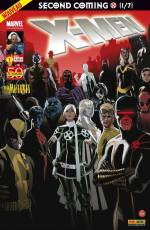 Couverture de l'album V2 X-MEN Tome #1 1/7 Le retour du Messie