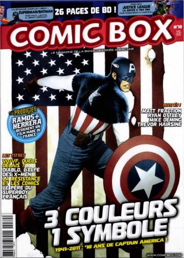 Couverture de l'album COMIC BOX Tome #78 Mai/Juin 2011