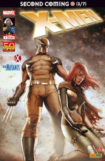 Couverture de l'album V2 X-MEN Tome #2 3/7 Le retour du messie