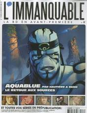 Couverture de l'album L' IMMANQUABLE Tome #8 Aquablue : le retour aux sources