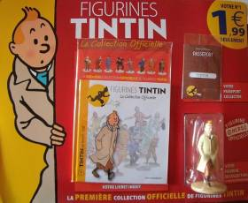 Couverture de l'album FIGURINES TINTIN - LA COLLECTION OFFICIELLE Tome #1 Tintin en trench-coat