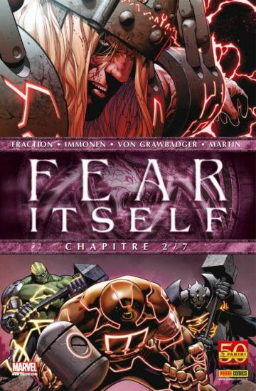 Couverture de l'album FEAR ITSELF Tome #2 Chapitre 2/7
