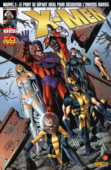 Couverture de l'album X-MEN Tome #10 Relations publiques