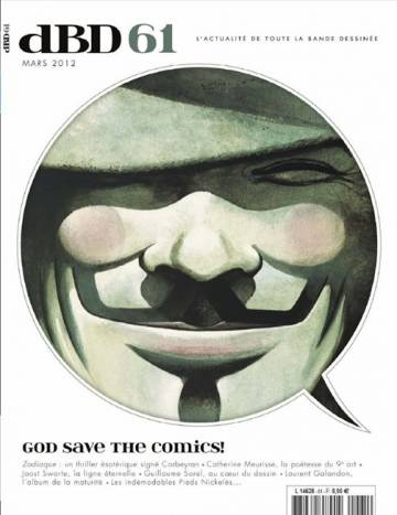 Couverture de l'album [dBD] Tome #61 God save the comics !