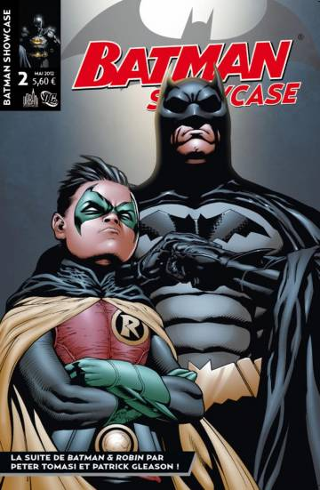 Couverture de l'album BATMAN SHOWCASE Tome #2 La suite de Batman & Robin