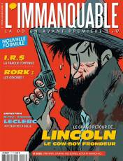 Couverture de l'album L' IMMANQUABLE Tome #17 Le grand retour de Lincoln le cow boy frondeur