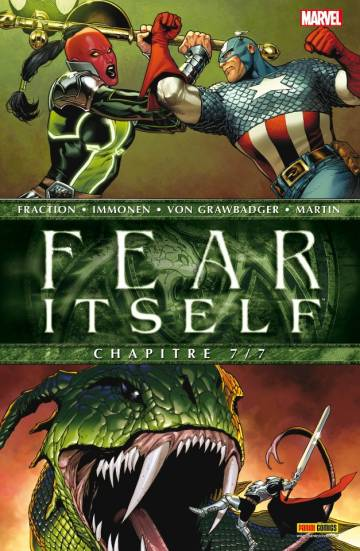 Couverture de l'album FEAR ITSELF Tome #7 Chapitre 7/7