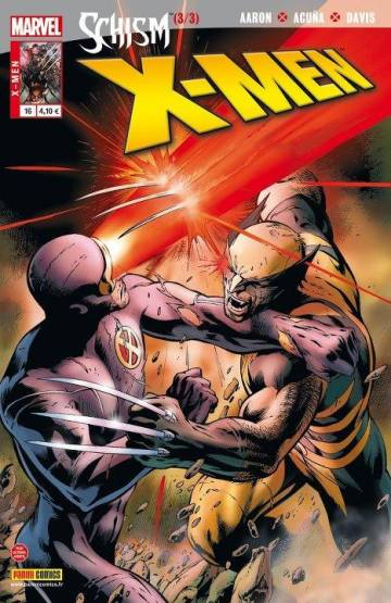 Couverture de l'album X-MEN Tome #16 Schisme (3/3)