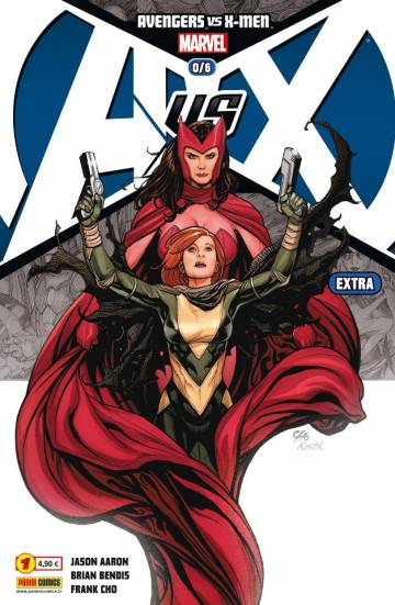 Couverture de l'album AVENGERS VS X-MEN EXTRA Tome #1 Avengers vs X-Men prologue