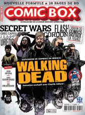 Couverture de l'album COMIC BOX Tome #81 Walking Dead : entretien exclusif avec Charlie Adlard