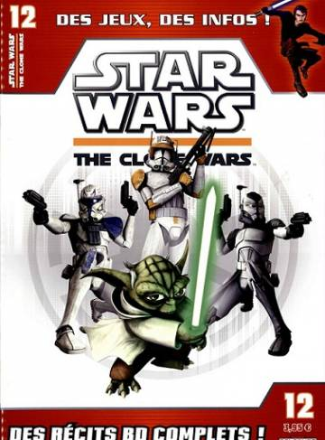 Couverture de l'album STAR WARS  : THE CLONE WARS Tome #12 Mai 2013