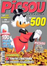 Couverture de l'album PICSOU MAGAZINE Tome #500 Avril 2014