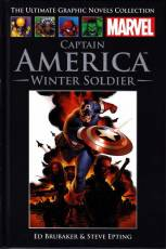Couverture de l'album THE ULTIMATE GRAPHIC NOVEL COLLECTION: CAPTAIN AMERICA Winter Soldier