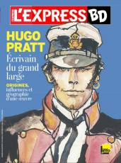 Couverture de l'album EXPRESS BD (L') Tome #2 Hugo Pratt : l'écrivain du grand large