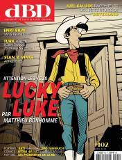 Couverture de l'album DBD Tome #102 Attention les yeux : Lucky Luke par Matthieu Bonhomme
