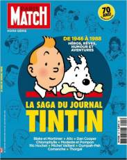 Couverture de l'album PARIS MATCH HORS SERIE Tome #13 La saga du journal Tintin