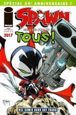 Couverture de l'album FREE COMIC BOOK DAY FRANCE (2017)  Spawn se les prend tous !
