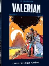 Couverture de l'album VALERIAN - LA COLLECTION Tome #2 L'Empire des Mille Planètes