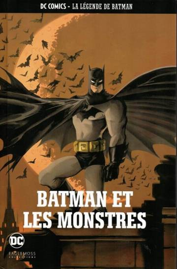 Couverture de l'album DC COMICS - LA LEGENDE DE BATMAN Tome #12 Batman et les Monstres