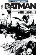 Couverture de l'album BATMAN WHITE KNIGHT Batman White Knight Free Comic Book Day France