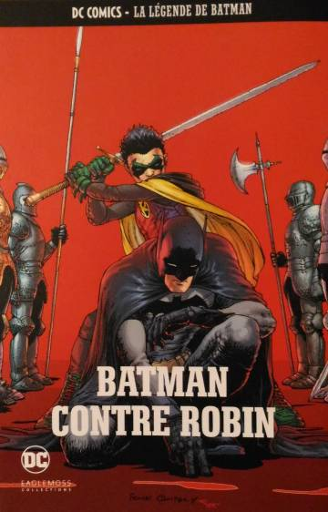 Couverture de l'album DC COMICS - LA LEGENDE DE BATMAN Tome #26 Batman contre Robin