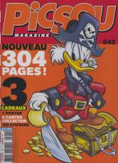 Couverture de l'album PICSOU MAGAZINE Tome #542 Nouveau, 304 pages