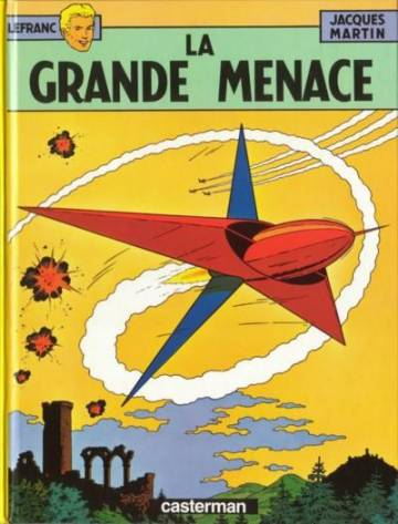 Couverture de l'album LEFRANC Tome #1 La grande menace