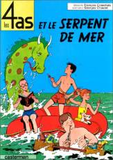 Couverture de l'album LES 4 AS Tome #1 Et le serpent de mer