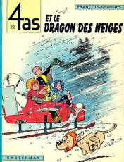 Couverture de l'album LES 4 AS Tome #7 Et le dragon des neiges