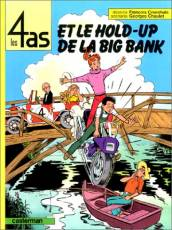 Couverture de l'album LES 4 AS Tome #22 Et le hold up de la Big Bank