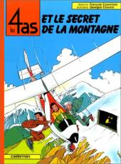 Couverture de l'album LES 4 AS Tome #24 Et le secret de la montagne