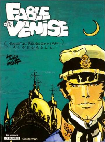 Couverture de l'album CORTO MALTESE Fable de Venise