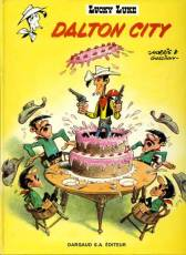 Couverture de l'album LUCKY LUKE Tome #3 Dalton City
