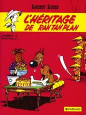 Couverture de l'album LUCKY LUKE L'héritage de Ran Tan Plan