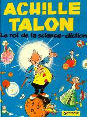 Couverture de l'album ACHILLE TALON Tome #10 Le roi de la science-diction