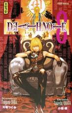 Couverture de l'album DEATH NOTE Tome #8 Cible