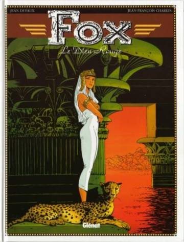 Couverture de l'album FOX Tome #4 Le Dieu Rouge