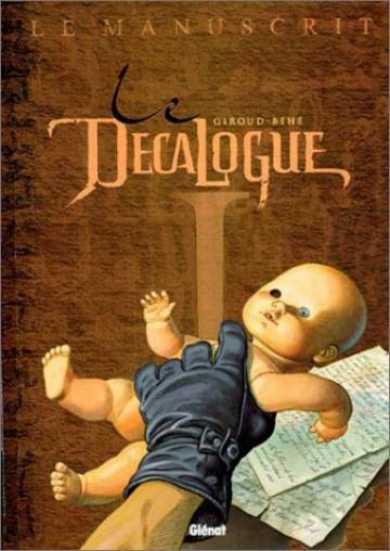 Couverture de l'album LE DECALOGUE Tome #1 Le manuscrit