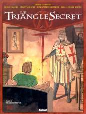 Couverture de l'album LE TRIANGLE SECRET Tome #3 De cendre et d'or