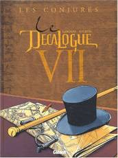Couverture de l'album DECALOGUE (LE) Tome #7 Les Conjurés