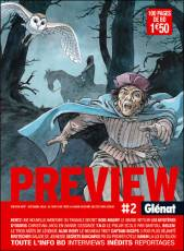 Couverture de l'album PREVIEW GLENAT Tome #2 Preview Glénat 2006
