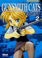 Couverture de l'album GUNSMITH CATS BURST Tome #2 Gunsmith Cats Burst