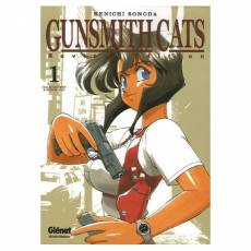 Couverture de l'album GUNSMITH CATS Tome #1 Gunsmith Cats