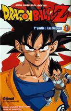 Couverture de l'album DRAGON BALL Z Tome #1 Les Saïyens