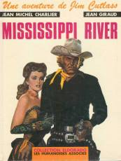 Couverture de l'album UNE AVENTURE DE JIM CUTLASS Tome #1 Mississippi River