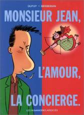 Couverture de l'album MONSIEUR JEAN Tome #1 Monsieur Jean, l'amour, la concierge.