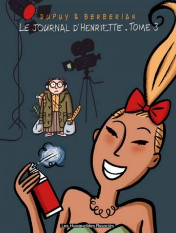 Couverture de l'album LE JOURNAL D'HENRIETTE Tome #3 Tome 3