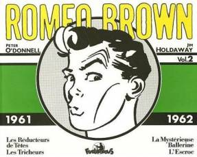 Couverture de l'album ROMEO BROWN Tome #2 1961 - 1962