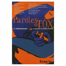Couverture de l'album PAROLES DE TOX. Paroles de tox.