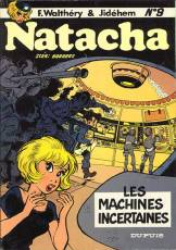 Couverture de l'album NATACHA Tome #9 Les machines incertaines